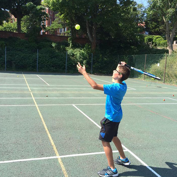 Play Tennis at the ISS Moira House summer school.