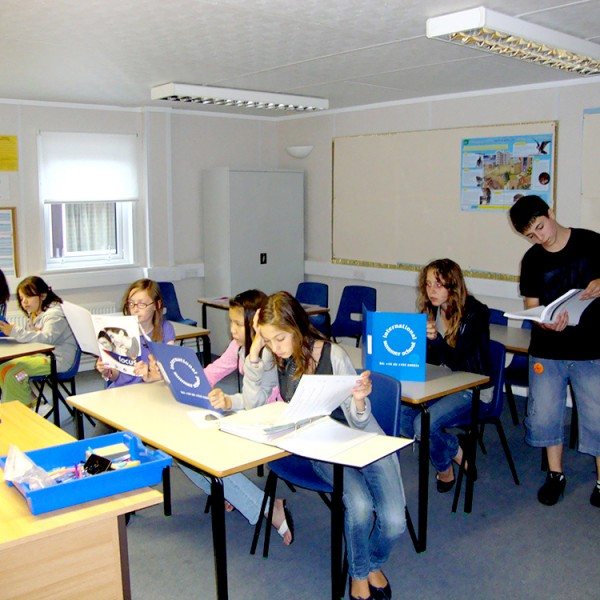 Juniors in the summer English language courses in a high quality summer school in England.