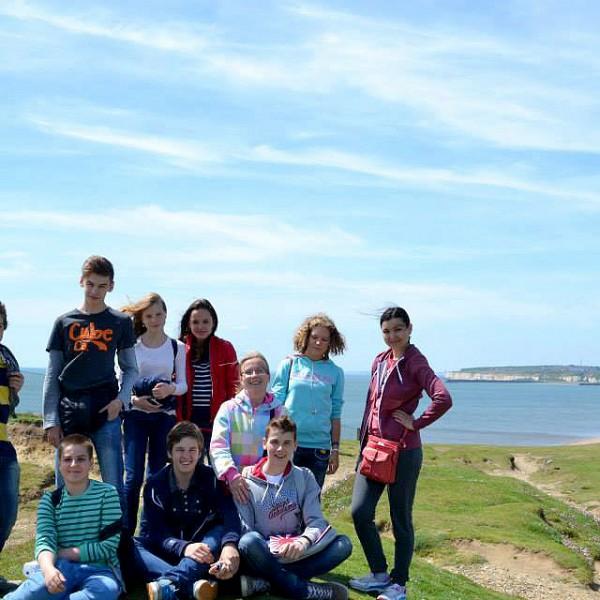 Gruppensprachreise und Klassenfahrt nach England sind in Eastbourne, in süd England.