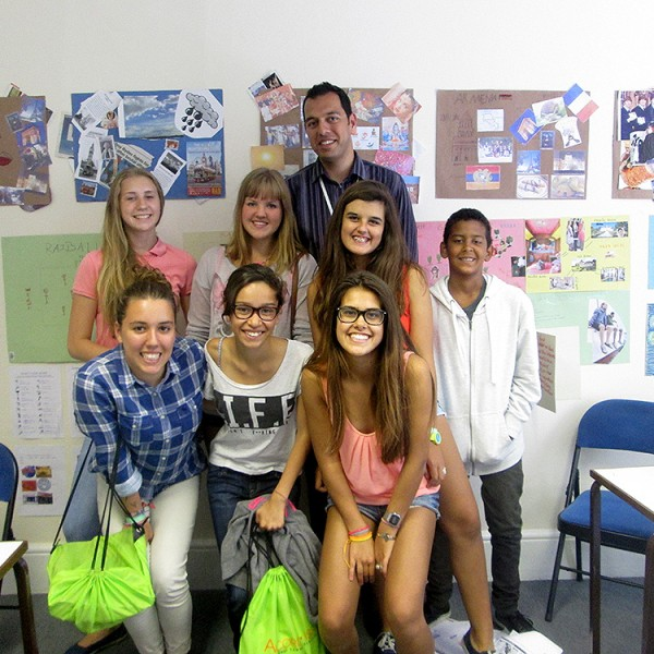 Day student programme in Eastbourne in England.