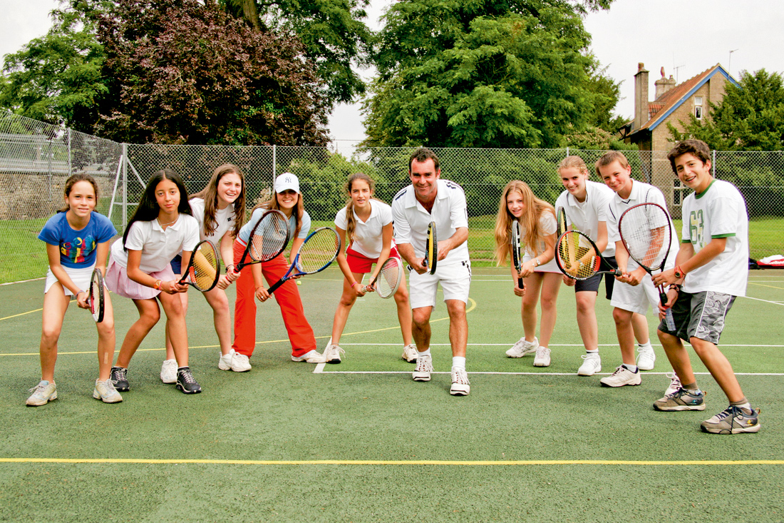 ACCORD ISS Tennis Camp in Inghilterra, in Eastbourne.