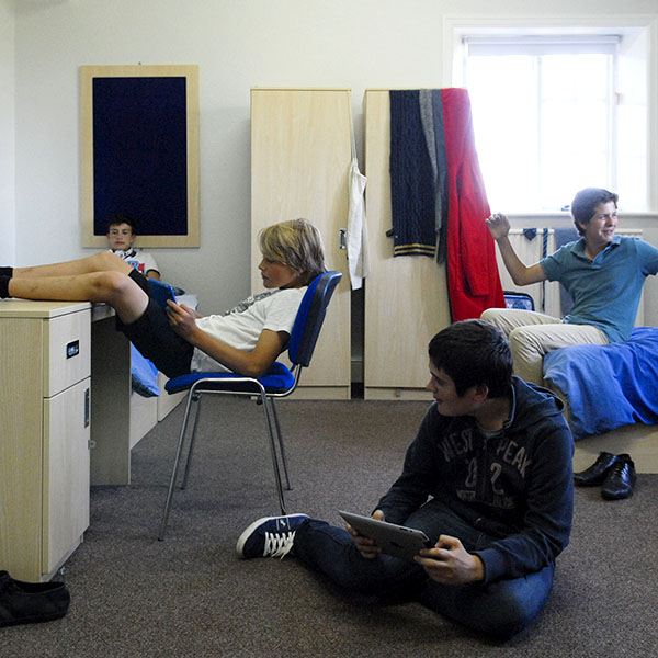 Accommodation at the ACCORD ISS Rossall Summer language school in England.