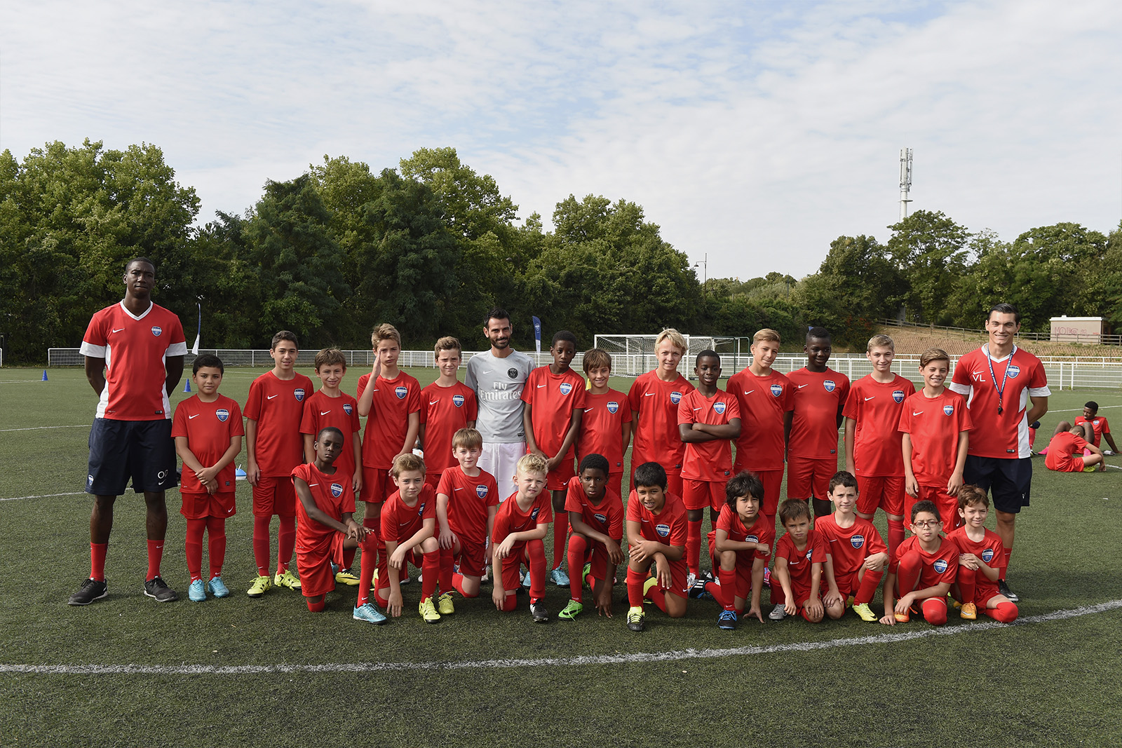 Football Academy course in England in the ISS Football Academy camps.